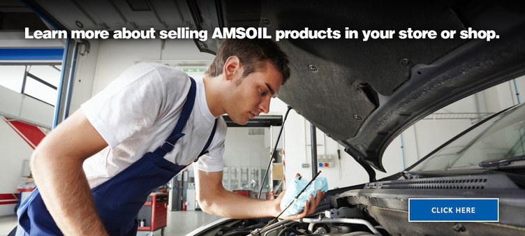 Selling AMSOIL in your shop